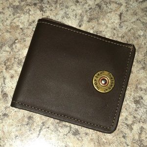 Over Under leather wallet
